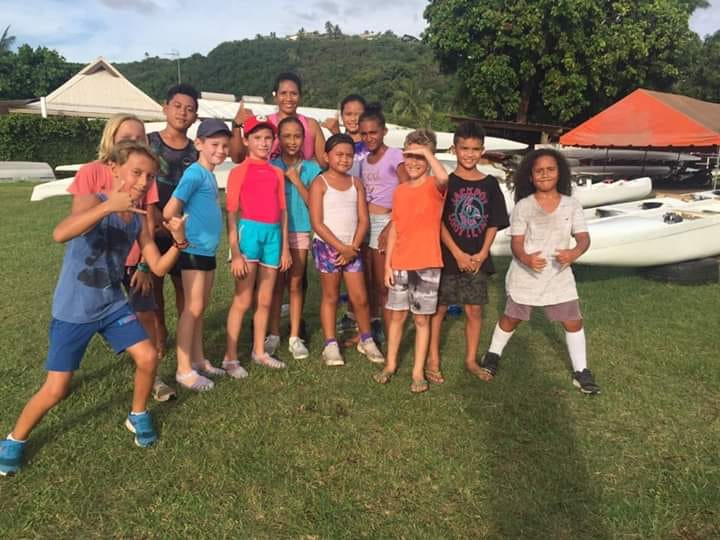 Tahitian Paddle Kids